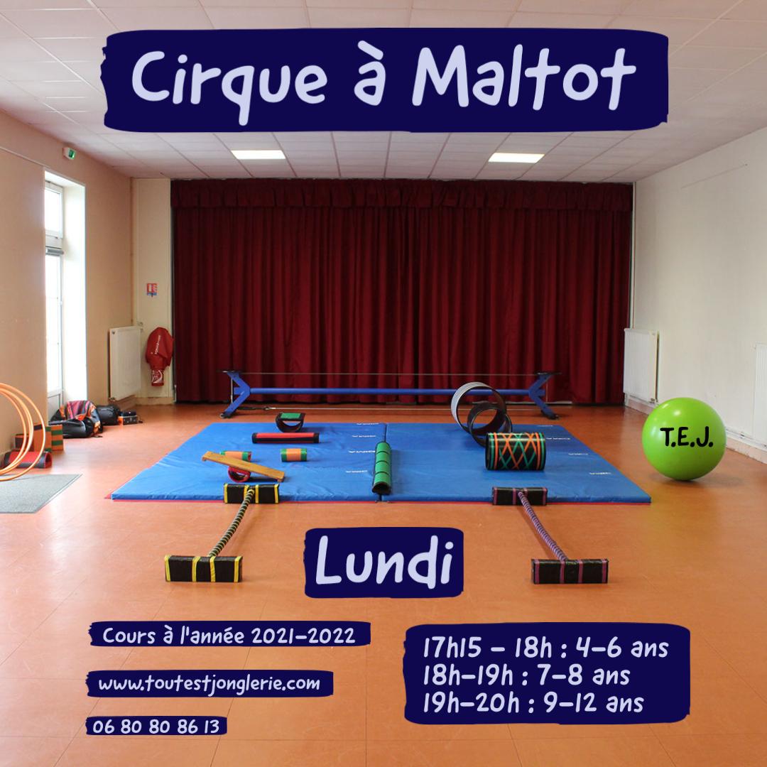 Activité cirque enfants maltot